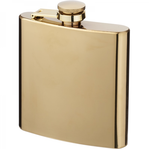 Gold Hip Flask 3