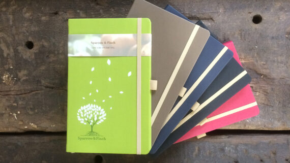 Promotional Eco Friendly Notebooks: The Appeel Notebook