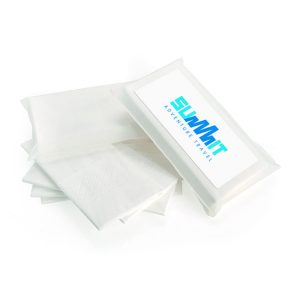 5 white Tissues in Biodegradable pack