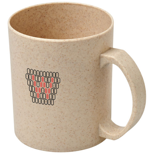 Coffee cup made from grains