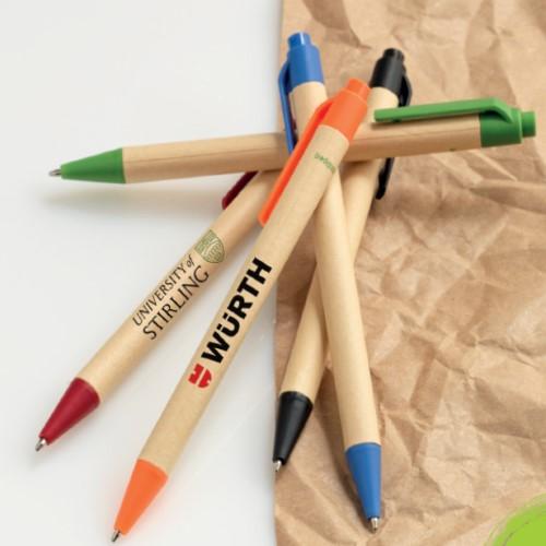 Berkan Recycled Carton Corn Ballpoint Pen 107384