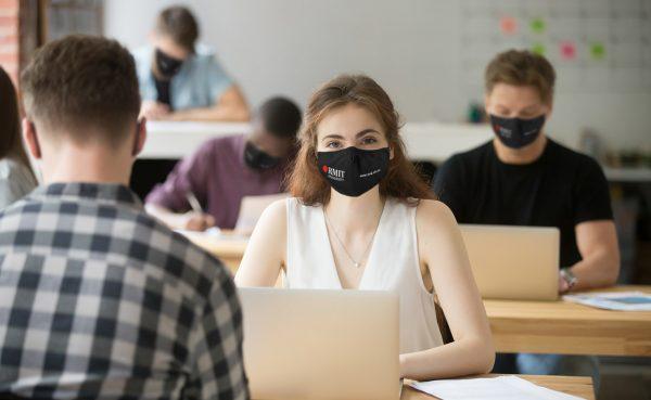 Branded face mask 2