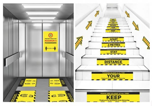 lifts and stairs