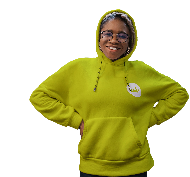 UPLOADING 1 / 1 – black woman green hoody 2.png ATTACHMENT DETAILS black woman green hoody